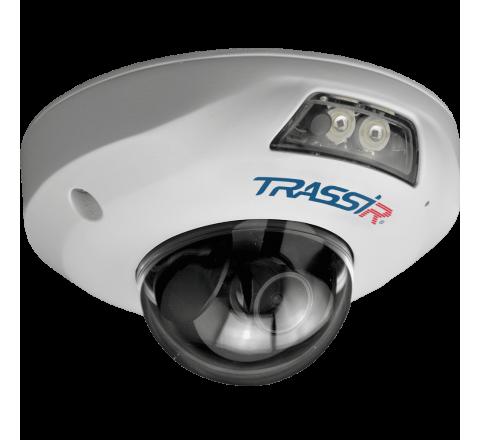 6 Мп IP-камера TRASSIR TR-D4161IR1 (2.8 мм) с ИК-подсветкой 15 м