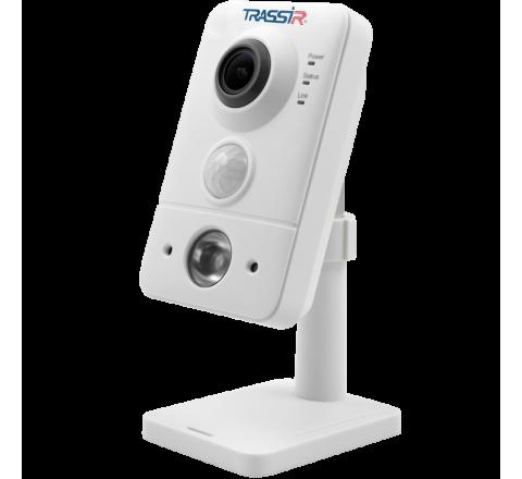 Компактная внутренняя 4 Мп IP-камера TRASSIR TR-D7141IR1 (1.9 мм) с ИК-подсветкой