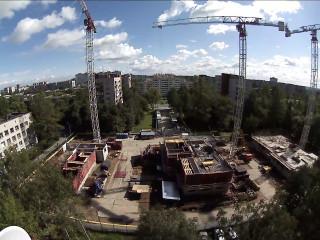 Власти Ямала наблюдают за строительством при помощи камер