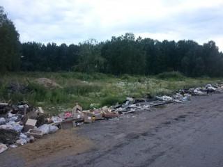С незаконным сбросом отходов на дорогах будут бороться при помощи видеонаблюдения