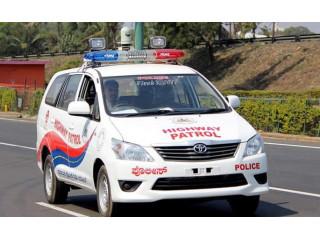 Полиция индийского штата увеличила число автомобилей с панорамными камерами видеонаблюдения