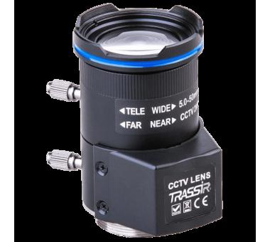 Вариофокальный 4 Мп объектив TRASSIR TR-L4M2.7D5-50IR с ИК-коррекцией