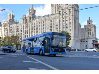 В Москве продолжают оснащение общественного транспорта видеонаблюдением с распознаванием лиц