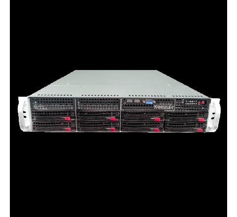 128-канальный IP-видеорегистратор TRASSIR NeuroStation на TRASSIR OS с нейросетевыми модулями