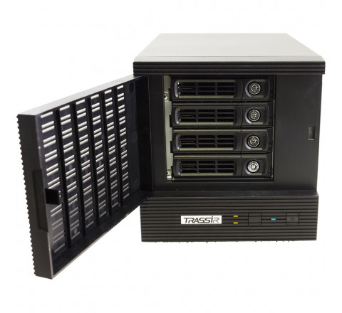 Компактный 32-канальный IP-регистратор TRASSIR DuoStation Pro с расширенной поддержкой аналитики